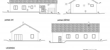 Novostavba rodinného domu, Milovice – K Zahradám (Nymburk)