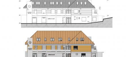 Statická část projektu novostavby obecního domu, Radonice