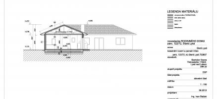 Novostavba rodinného domu lehké ocelové konstrukce, Stará Lysá (Lysá nad Labem)