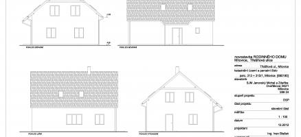 Novostavba rodinného domu, Milovice – Třešňová (Nymburk)
