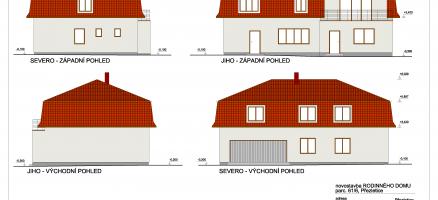 Novostavba rodinného domu, Přezletice (Praha – východ)