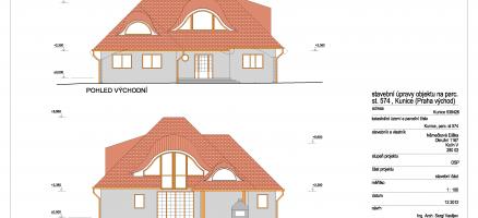 Stavební úpravy a změna užívání rodinného domu na penzion – Kunice