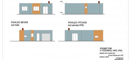 Novostavba rodinného domu, Praha – Horní Počernice