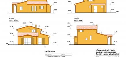 Novostavba rodinného domu, Pyšely