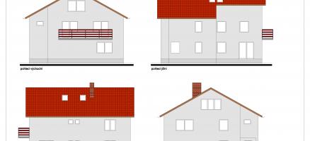 Stavební úpravy a změna užívání rodinného domu na ubytovací zařízení – Říčany