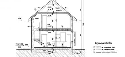 Novostavba rodinného domu, Bukovno (Mladá Boleslav)