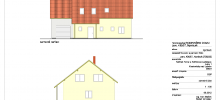 Novostavba rodinného domu, Nymburk